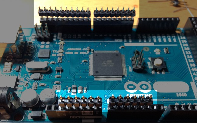 Working with the arduino lcd shield kit dzone iot