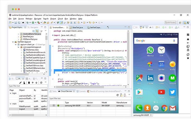 Appium Studio for Eclipse: Plugin for Mobile Testing - DZone