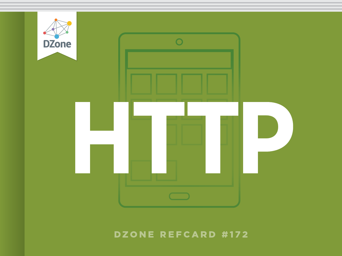 The Essential HTTP Cheat Sheet: HTTP is the foundation of data communication for the World Wide Web. This Refcard includes an introduction to HTTP, as well as sections dedicated request methods, header fields, MIME types, and more.