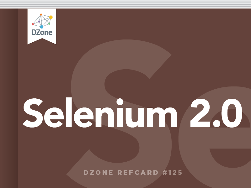 Selenium 2 0: Using the Webdriver API to Create Robust User