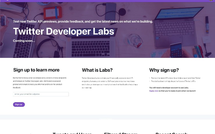 Twitter Launches Developer Labs to Test New API Products