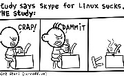 Skype for Linux [comic]