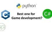 C# vs. Python vs. C++ for Game Development