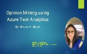 Opinion Mining Using Azure Text Analytics: Sentiment Analysis [Video]