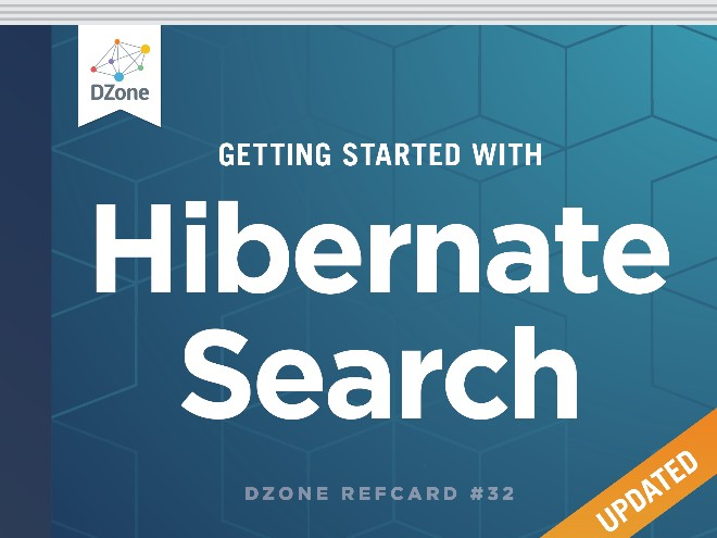 Getting Started with Hibernate Search