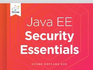 Java EE Security Essentials