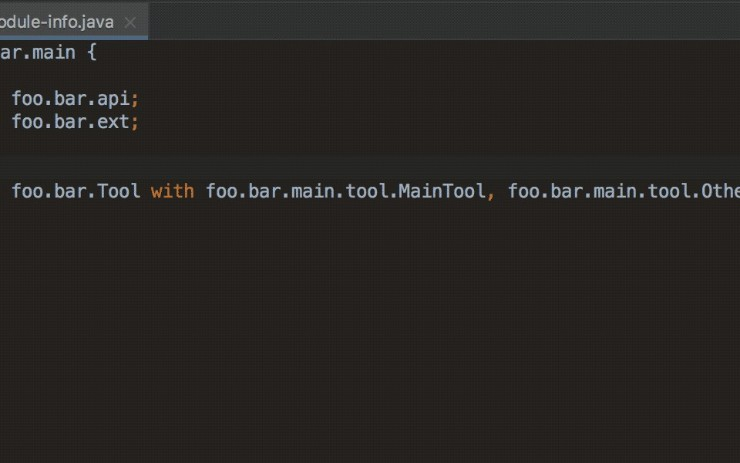 Advanced Support for Java 9 Modules in IntelliJ IDEA